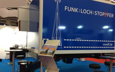 News: GPEC 2018 in Frankfurt- Messestand der Funklochstopfer - Unsere ere Mobilen Sendestationen